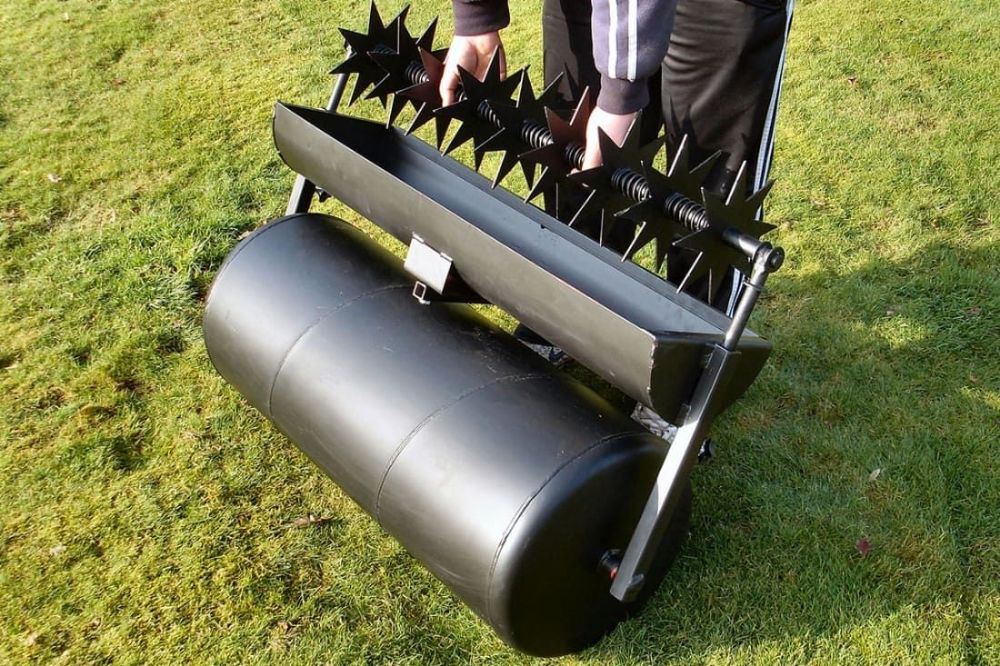"Slitter Attachment | 36"" Towed Lawn Care System"